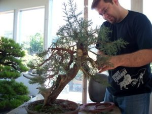 John working on Juniper